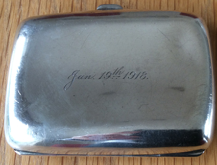 joseph cuffley cigarette box