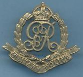 Military mounted police cap badge ww1